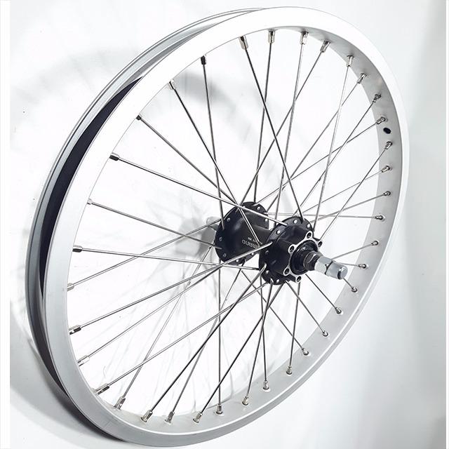 Hjul-20-tum-disk-brake-silver