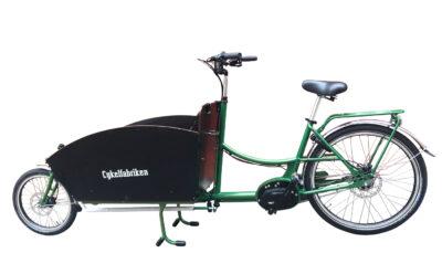 Bakfiets-XL-med-Shimano-Motor-Grön_3