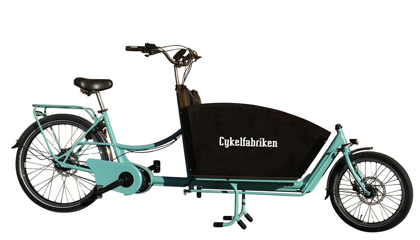 Lådcyklar och bakfiets från Cykelfabriken