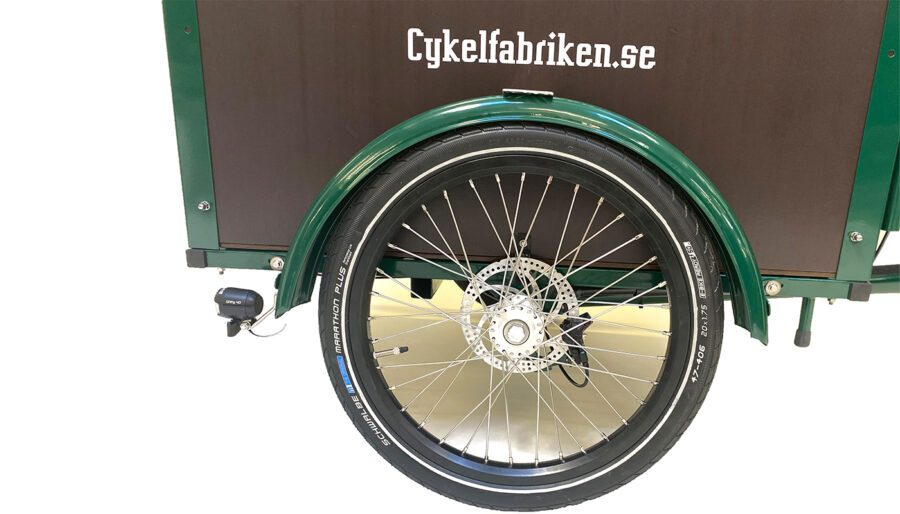 Klassisk-light grön-diskbroms