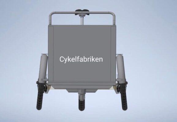 stabilitet på 3-hjul lådcykel